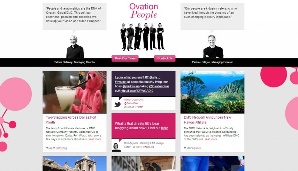 OvationDMC Responsive Web Design by DotDash - Home2