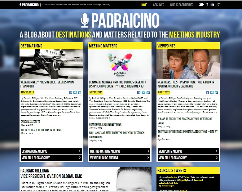 Padraicino Responsive Web Design by DotDash - Home