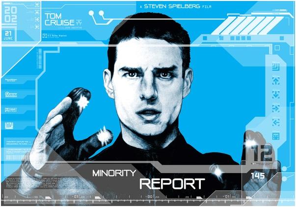 Minority Report Behance