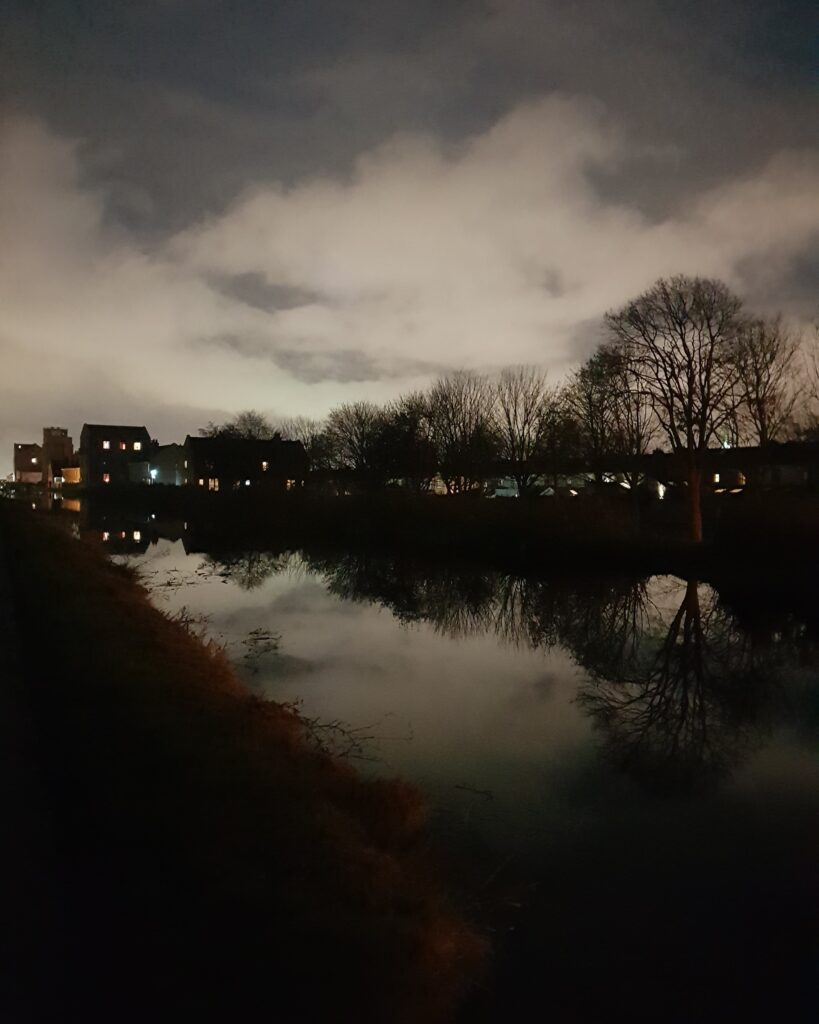 Royal Canal at dusk